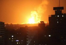 غزة تحت القصف