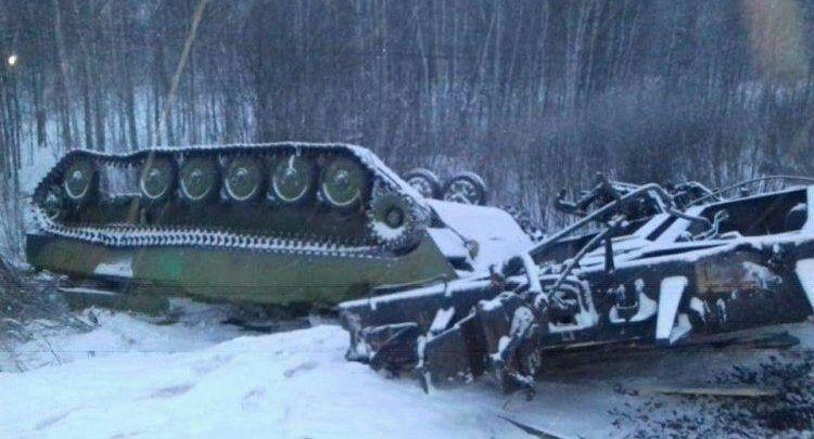 روسيا قطار عسكري