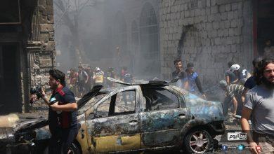 بالصور والفيديو.. قتلى وجرحى في غارات عنيفة لروسيا والنظام على أريحا بريف إدلب