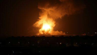 غارات للاحتلال على متاطق متفرقة من غزة فجر اليوم