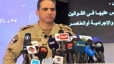 العقيد أركان حرب تامر الرفاعى - المتحدث الرسمى باسم القوات المسلحة