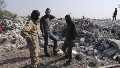 الموقع الذي قتل فيه البغدادي