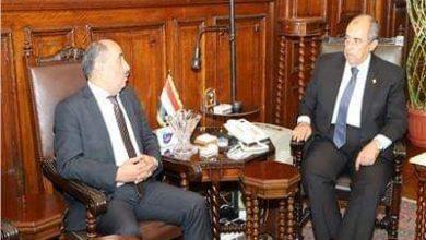 وزيرا الزراعة المصري والفلسطيني