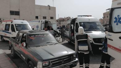 حادث إرهابي في جرش الأردن