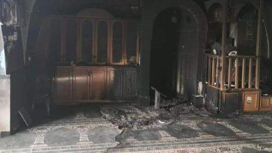 حريق مسجد بالقدس
