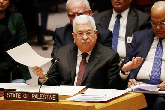 أبو مازن بمجلس الأمن