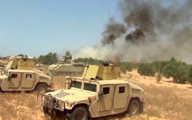 عمليات القوات المسلحة بسيناء