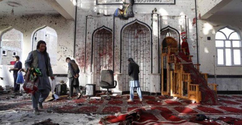 أرشيفية - تفجير مسجد أفغانستان