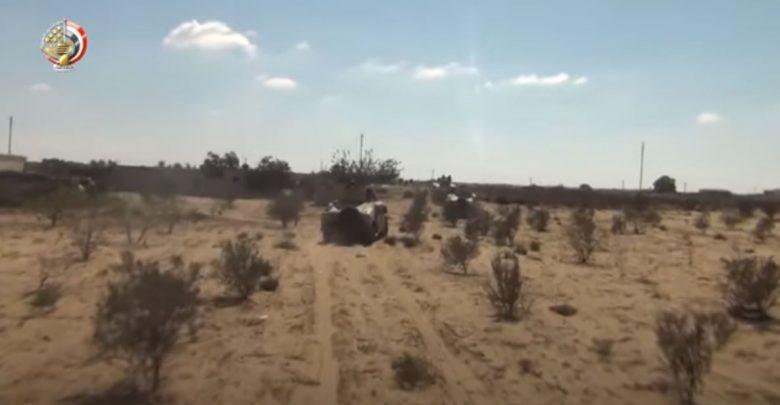 القوات المسلحة - سيناء