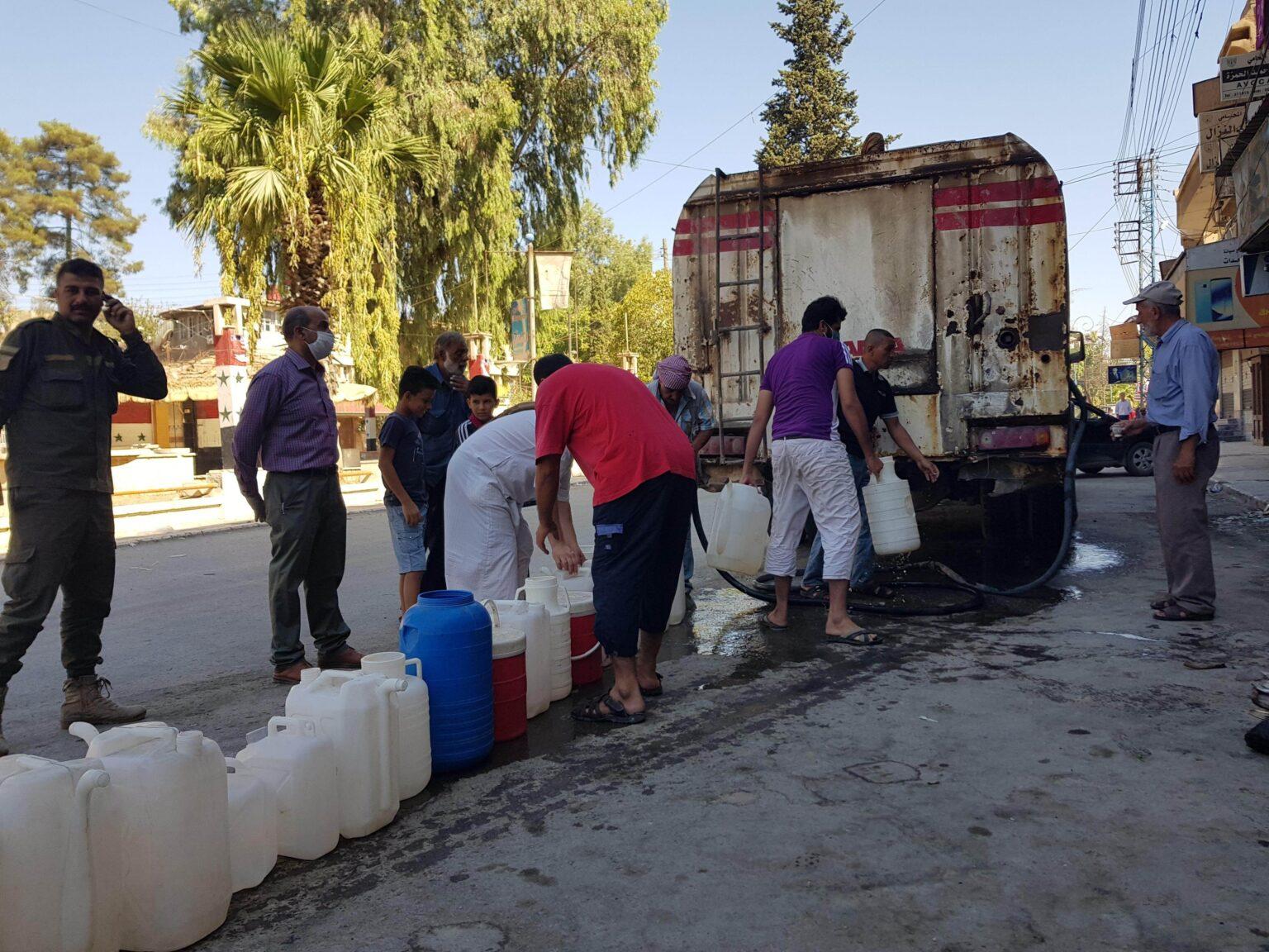 سوريا - العطش