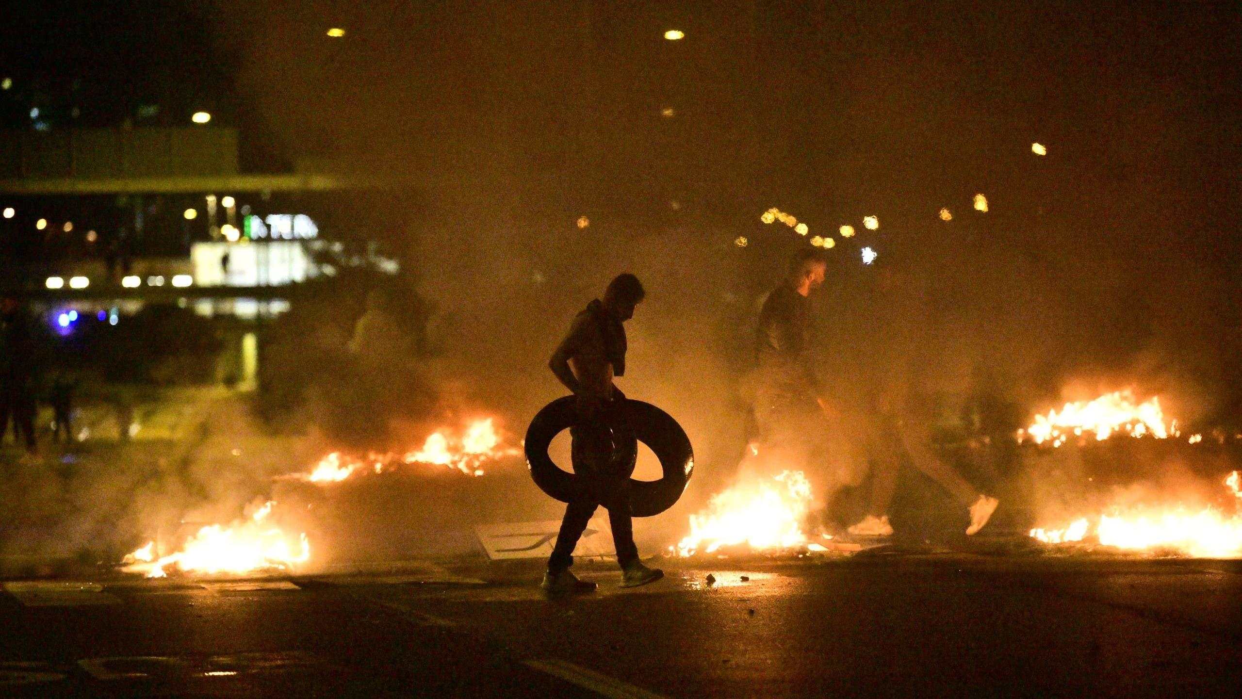 حريق مصحف في السويد