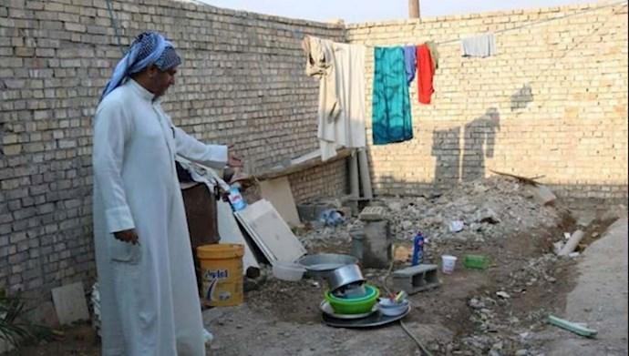 إيران تهدم قرى الأحواز