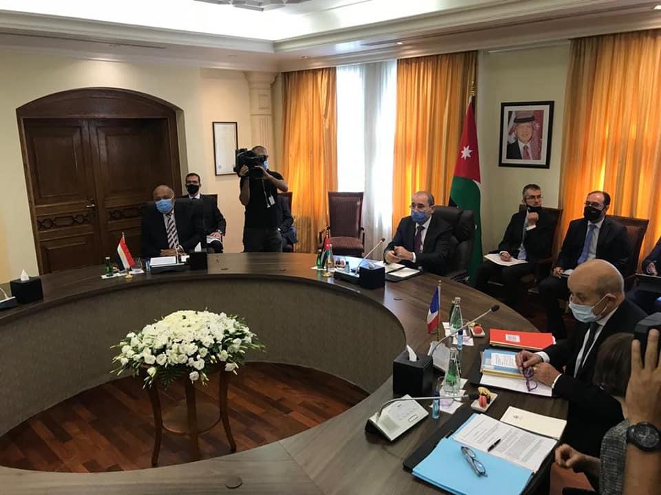 الاجتماع الرباعي بالأردن
