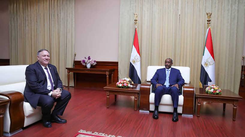 بومبيو - السودان