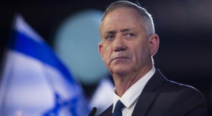 وزير جيش الاحتلال الإسرائيلي بني غانتس
