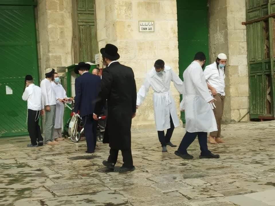 اقتحامات المستوطنين للمسجد الأقصى