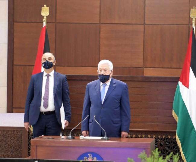 الرئييس الفلسطيني - اجتماع الأمناء