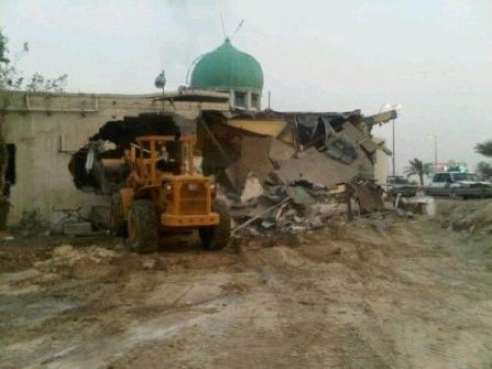 هدم مسجد - فلسطين