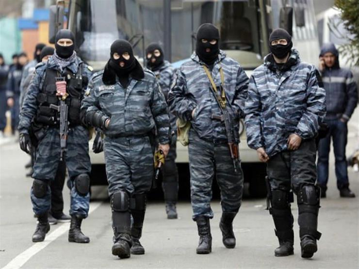قوات الأمن الروسيا