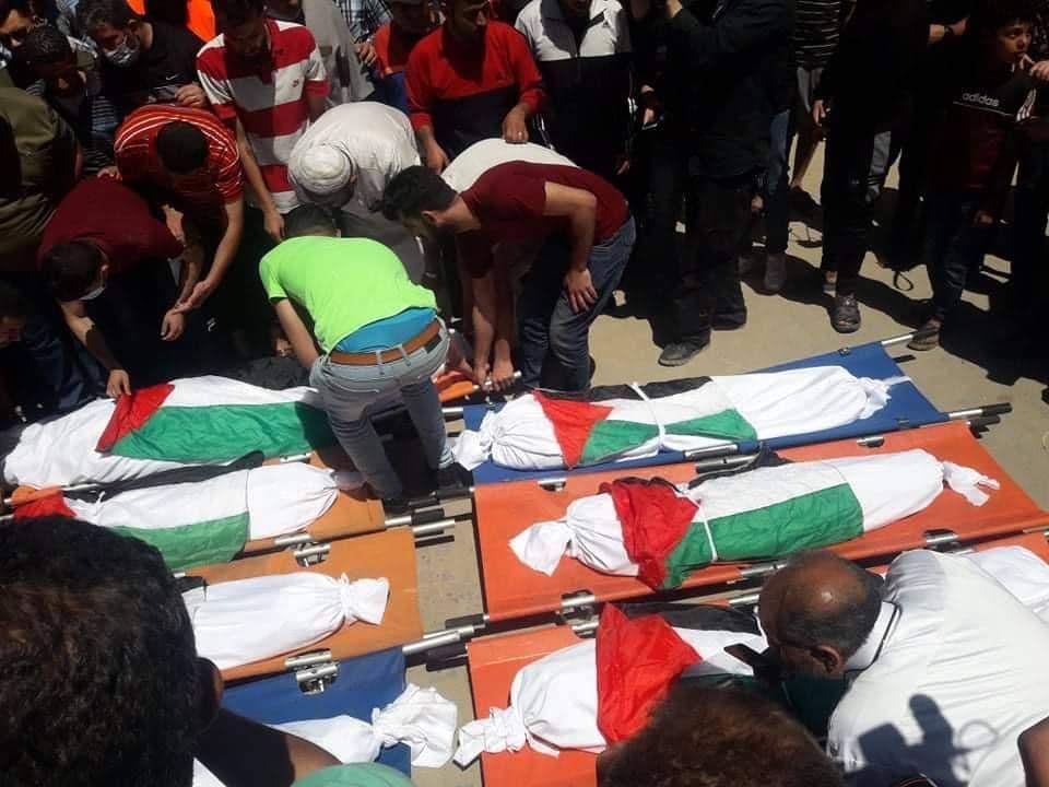 الرئاسة الفلسطينية تدين بشدة مجزرة غزة فجر اليوم