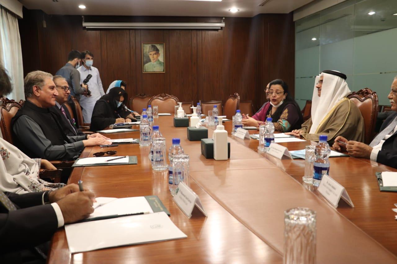 رئيس البرلمان العربي يثمن المواقف المشرفة لجمهورية باكستان تجاه القضية الفلسطينية ودعم الجهود الرامية لحل الأزمة اليمنية