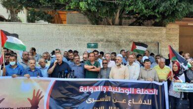 للإعلان عن انطلاق فعاليات الحملة الوطنية والدولية لإنهاء ملف الاعتقال الإداري