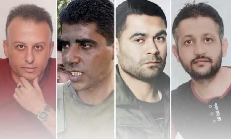 اعتقال 4 أسرى ممن حرروا أنفسهم